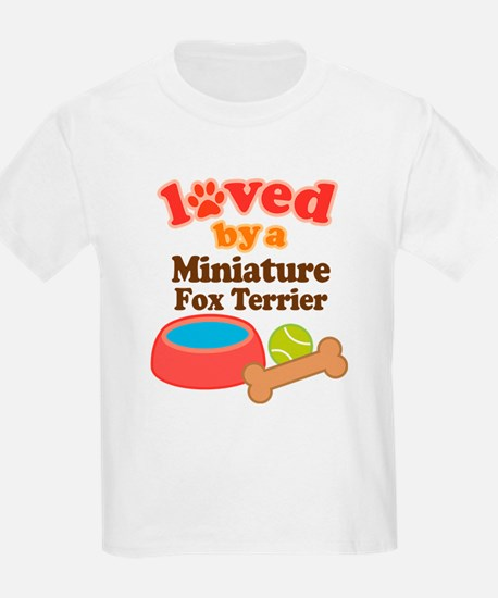 Miniature Fox Terrier Dog Gift T-Shirt
