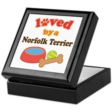 Norfolk Terrier Dog Gift Keepsake Box