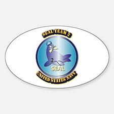 SSI - US Navy - Seal Team 2 Sticker (Oval)