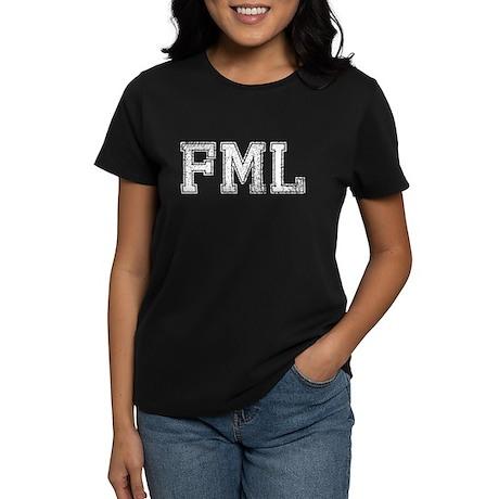 FML, Vintage, Women's Dark T-Shirt
