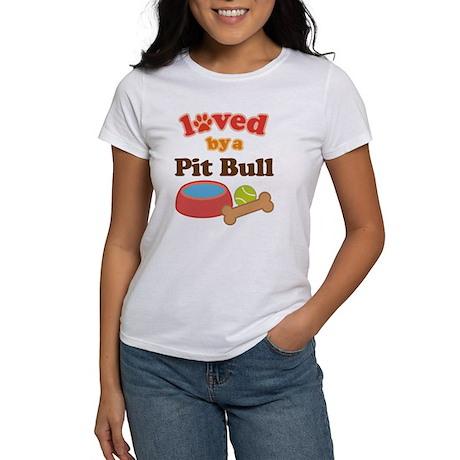 Pit Bull Dog Gift Women's T-Shirt