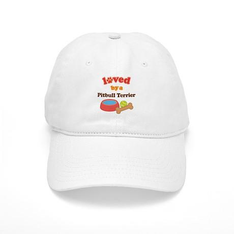 Pitbull Terrier Dog Gift Cap
