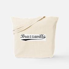 Vintage Brazzaville Tote Bag