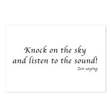 Knock on the sky Postcards (Package of 8)