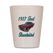 1957 Thunderbird Shot Glass