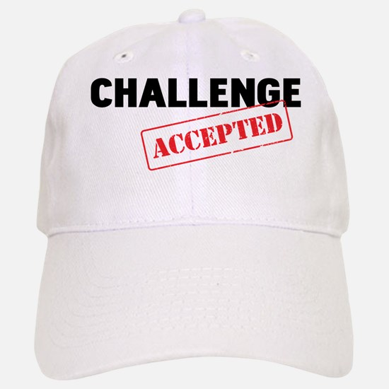 Challenge Accepted Baseball Baseball Cap