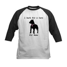 Pitbull Personalizable I Bark For A Cure Tee