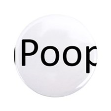 """iPoop.png 3.5"""" Button (100 pack)"""