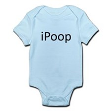 iPoop.png Infant Bodysuit