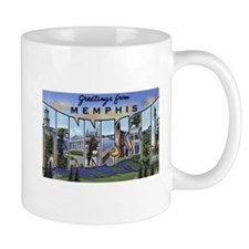 Memphis Tennessee Greetings Mug