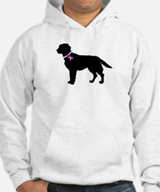 Labrador Retriever Breast Can Hoodie