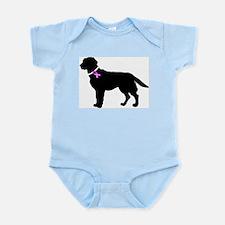 Labrador Retriever Breast Can Infant Bodysuit