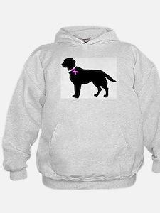 Labrador Retriever Breast Can Hoodie