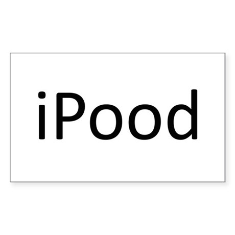 iPood.png Sticker (Rectangle)