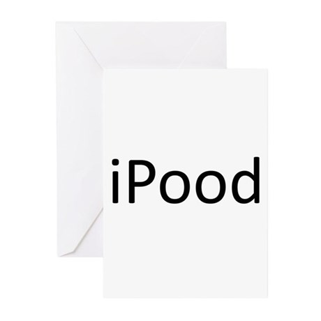 iPood.png Greeting Cards (Pk of 10)