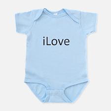 iLove.png Infant Bodysuit