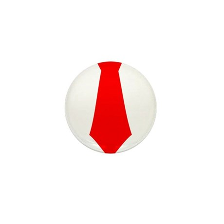 Red Tie.png Mini Button (10 pack)