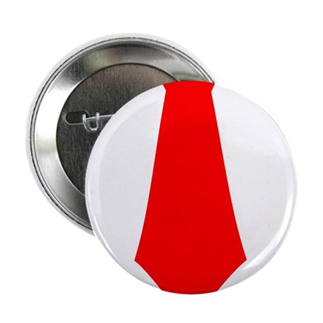 "Red Tie.png 2.25"" Button (100 pack)"