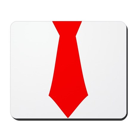 Red Tie.png Mousepad