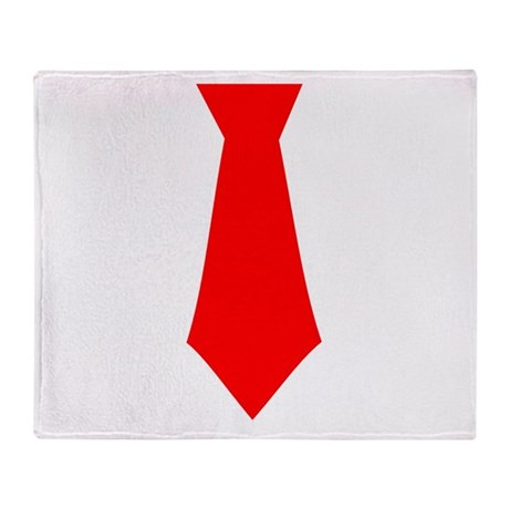 Red Tie.png Throw Blanket