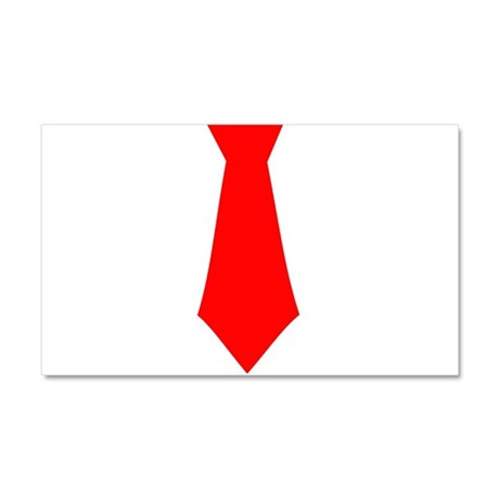 Red Tie.png Car Magnet 20 x 12