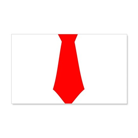 Red Tie.png 22x14 Wall Peel