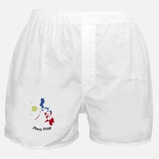 Pinoy Pride Map Boxer Shorts