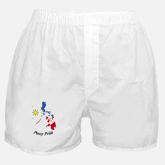 Pinoy Pride Map Boxer Shorts