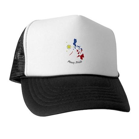 Pinoy Pride Map Trucker Hat