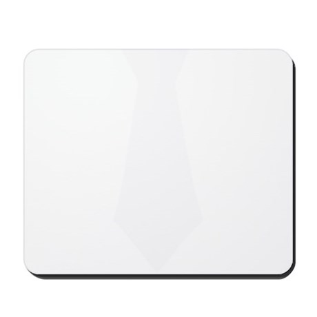 White Tie.png Mousepad