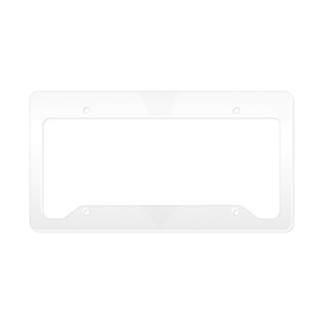White Tie.png License Plate Holder