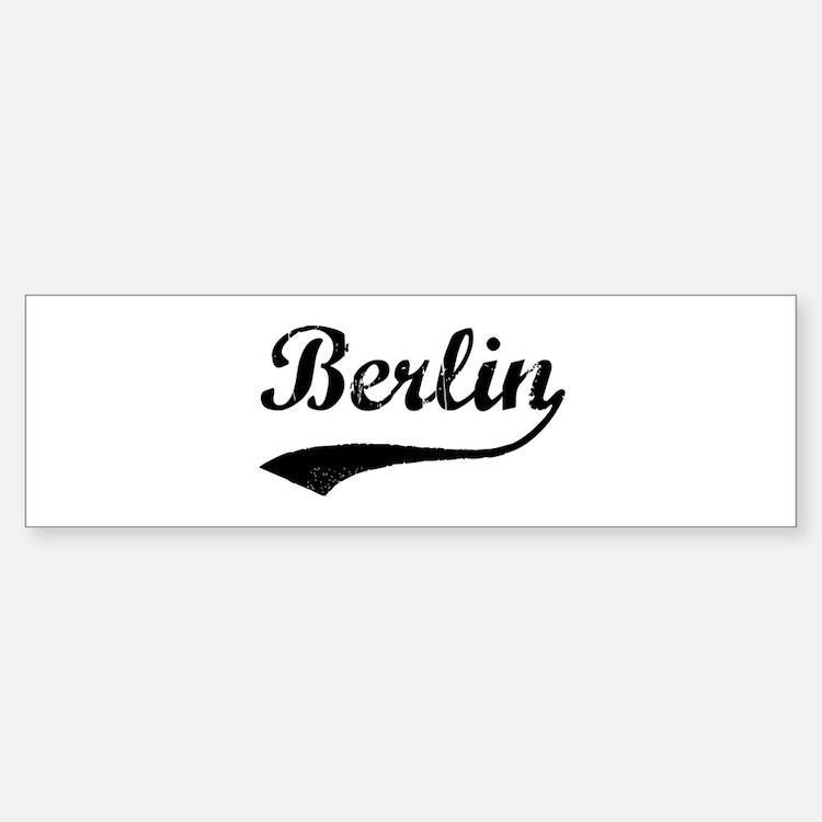 Vintage Berlin Bumper Bumper Bumper Sticker