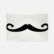 Mustache1.png Rectangle Magnet (10 pack)