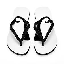 Mustache2.png Flip Flops
