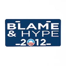 Hype & Blame 2012 Aluminum License Plate