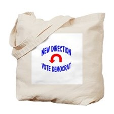 New Direction, Vote Democrat Tote Bag