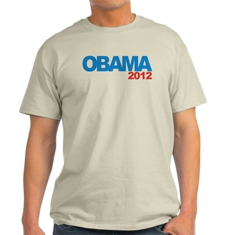 OBAMA 2012 Campaign Light T-Shirt