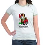 Night After Christmas Jr. Ringer T-Shirt