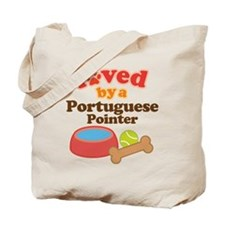 Portuguese Pointer Dog Gift Tote Bag