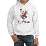 Merry Christmas To All Hooded Sweatshirt