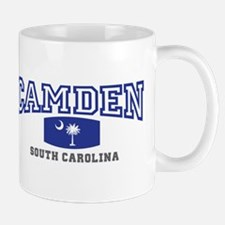 Camden South Carolina, SC, Palmetto State Flag Mug