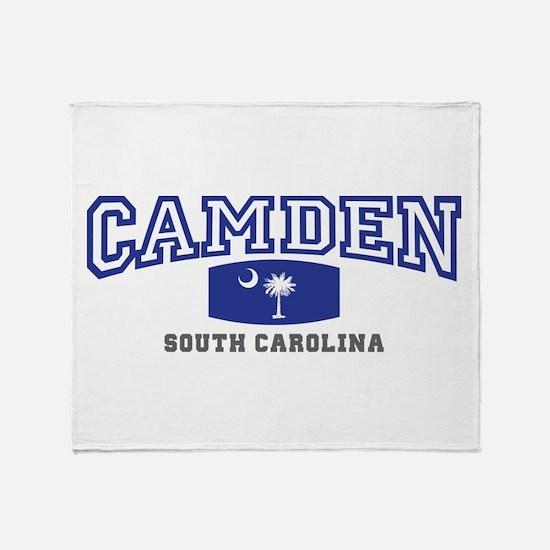 Camden South Carolina, SC, Palmetto State Flag St