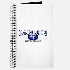 Camden South Carolina, SC, Palmetto State Flag Jou