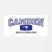 Camden South Carolina, SC, Palmetto State Flag Alu