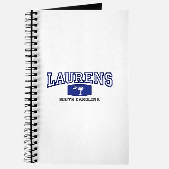 Laurens South Carolina, SC, Palmetto State Flag Jo