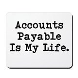 Accounts payable Classic Mousepad
