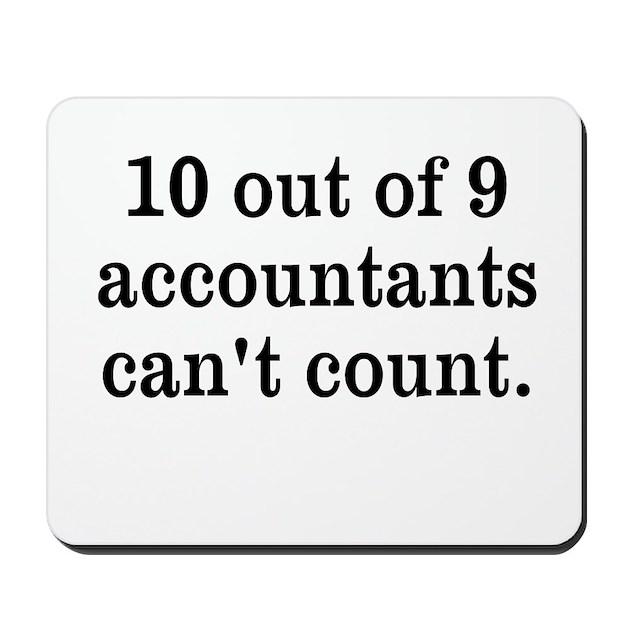 Accountant Joke Mousep...