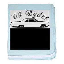 64 Ryder baby blanket