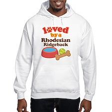 Rhodesian Ridgeback Dog Gift Hoodie