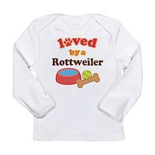 Rottweiler Dog Gift Long Sleeve Infant T-Shirt